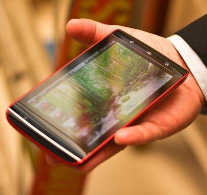 una visuale dell'insieme in funzione del tablet Dell