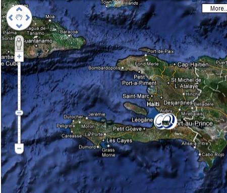 Google Earth mostra a tutti il terremoto ad Haiti