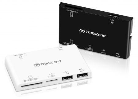 Transcend Multi-card reader P7: lettore di schede di memoria e hub USB insieme