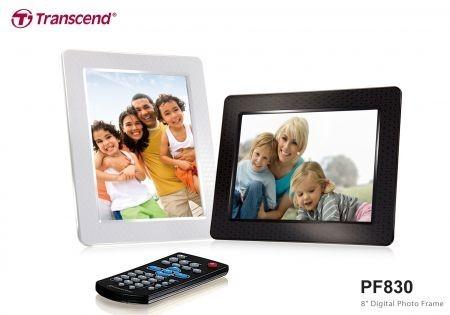 Transcend PF830: cornice digitale moderna e funzionale per San Valentino 2010