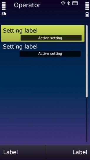 Symbian 3 nuove immagini