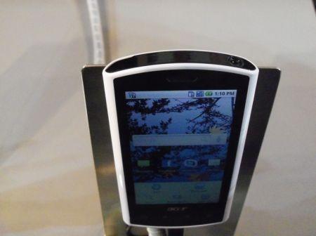Acer Liquid e con Android 2.1 fotogallery al MWC 2010