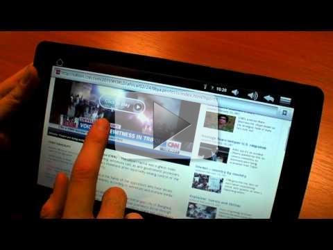 Archos Arnova 8 e 10: tablet a basso costo (video)