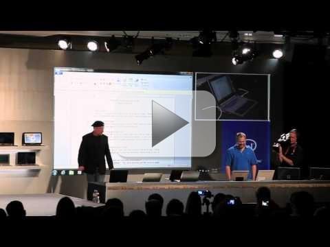 CES 2012: Intel Nikiski, il prototipo ultrabook ibrido che si comporta da tablet
