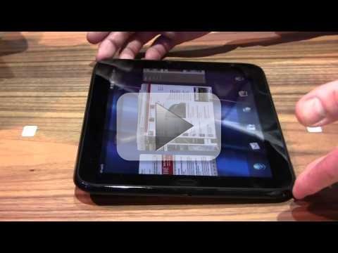 WebOS HP TouchPad Tablet: scheda tecnica