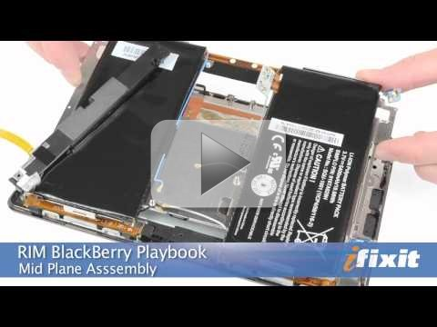 BlackBerry PlayBook smontato in un video