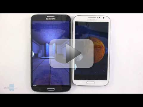 Samsung Galaxy Note 2 vs Mega 6.3: scontro titanico [VIDEO]