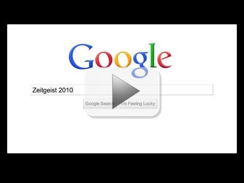 Google Zeitgeist 2010: Facebook, Youtube, attualità e telefonia i più cercati