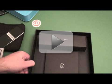 BlackBerry PlayBook: ecco il primo unboxing