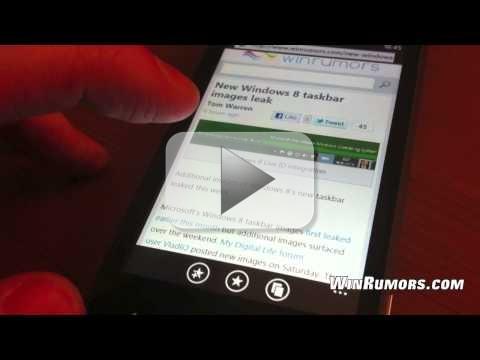 Windows Phone 7 NoDo: Microsoft rilascia aggiornamento smartphone