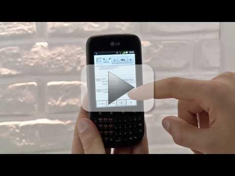 LG Optimus Pro: QWERTY estesa per il lavoro ed il tempo libero