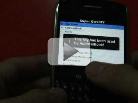 Super QWERTY per BlackBerry: Crea delle scorciatoie da tastiera per il tuo BlackBerry