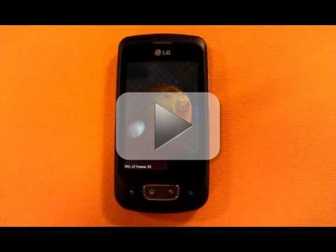 Android 2.3 Gingerbread su LG Optimus One (video ufficiale)