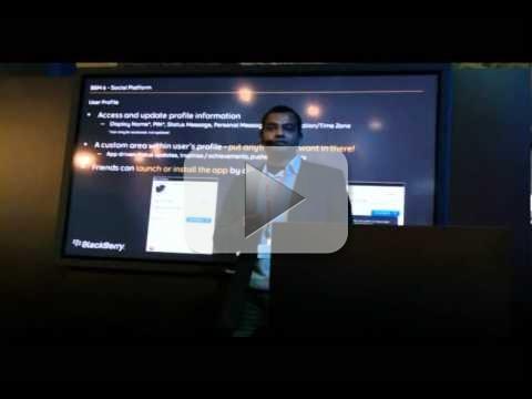 MWC 2011: Presentato BlackBerry Messenger 6