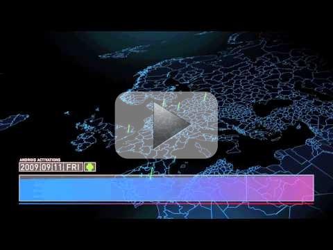La crescita di Google da Ottobre 2008 a Gennaio 2011 (video)