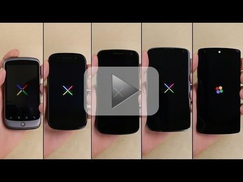 Google Nexus: confronto tra tutte le generazioni [VIDEO]