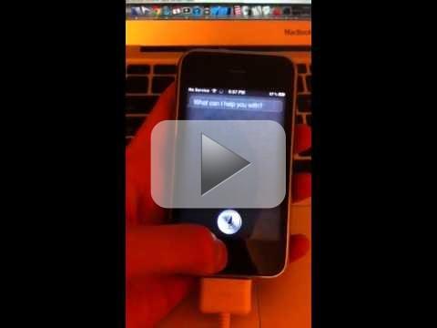 Siri su iPhone 4 e 3GS, forse è possibile grazie ad un hack