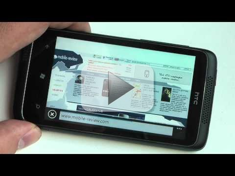 HTC Mazaa:  Windows Phone 7.1 Mango in anteprima video