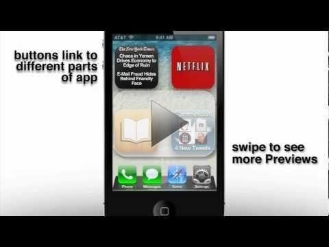 iOS 5, caratteristiche sognate: le icone dinamiche